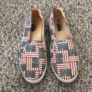 Shoes - USA flag shoes